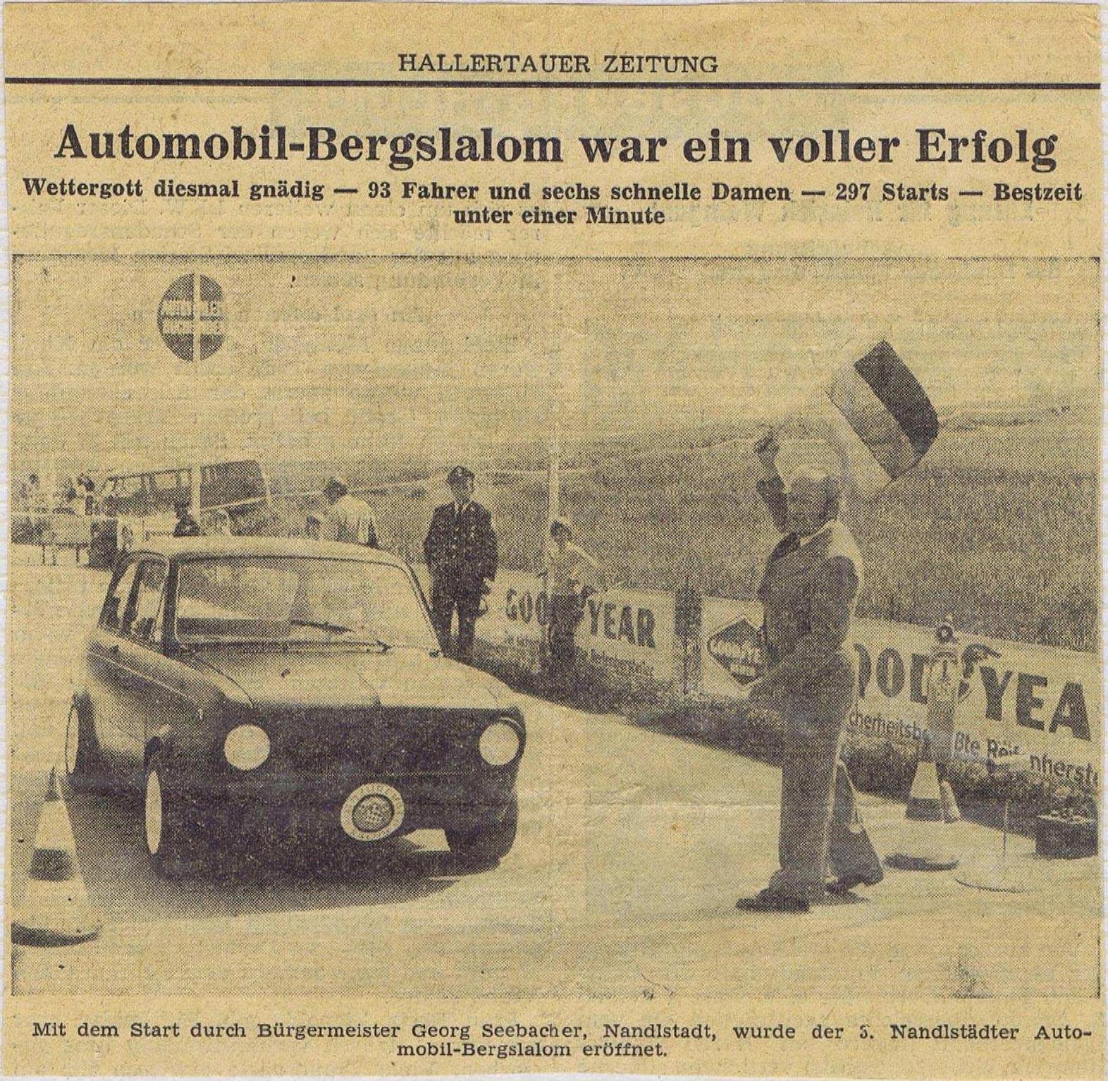 Hallertauer Zeitung - Automobil-Bergslalom war ein voller Erfolg